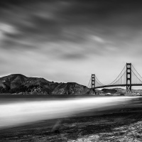 2nd Digital - Baker Beach Morning by Brad Bartee