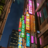 3rd Place Digital – Chinatown Lights by Stan Greenberg