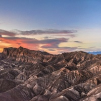 1st Digital – Sunset at Zabriskie Point by Rohit Kamboj