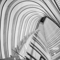 Mono 3rd - Hard Starboard Tack at the Marriott Marquis by Brandon Ward