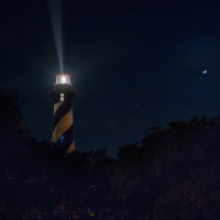 Digital HM - St. Augustine Lighthouse by Janerio Morgan