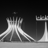 Digital 1st - Brasilia's cathedral by Enrique