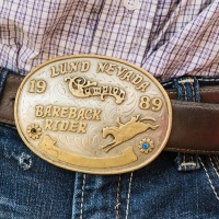 Digital 3rd - My Pa's Championship Buckle by D. Stephens