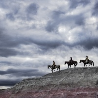 Color 2nd - Big Sky Riders by Mike Shaefer
