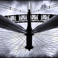 Mono HM - The Ferris Wheel by Marc McElhaney
