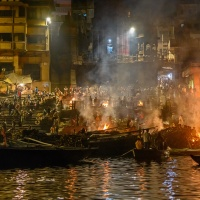 Digital HM – Ganges Cremation Ceremony by Steve Director