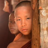 Digital 1st - Novice Monks by Enrique