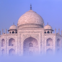 Digital 3rd - The Beautiful Taj Mahal by Mike Shaefer