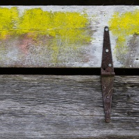 Color 1st - Old Barn Detail - Weather and Time by Jim Harrison
