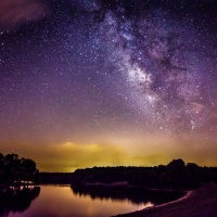 Color 2nd - Milky Way at Boyle Murder Lake by Rohit Kamboj