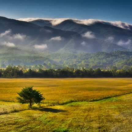 Cades Cove - Great Smoky Mountains by Stan Greenberg