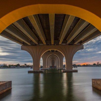 Pinellas Byway Bridge - Florida by Stan Greenberg