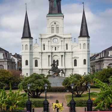 St. Louis Cathedral - New Orleans by Stan Greenberg