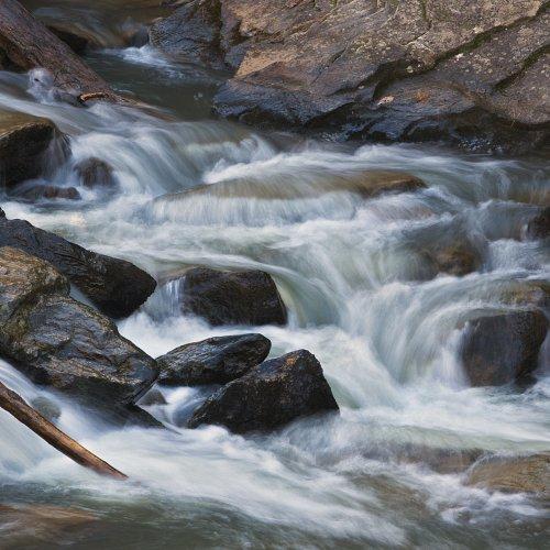 Little Bear Creek Cascade - Jim Harrison