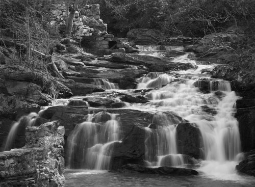 Little Bear Creek Falls and Mill Ruins - Jim Harrison