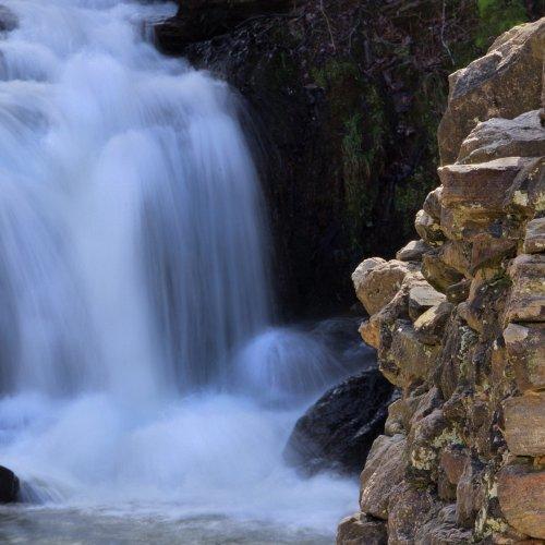Ruins and Falls: Cochran Mill - Jim Harrison