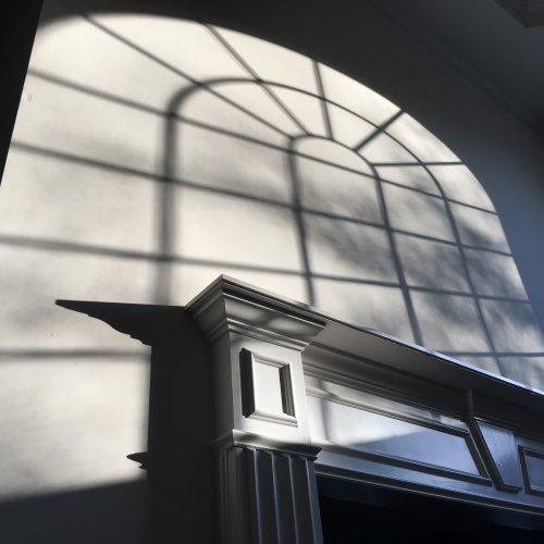 Foyer Wall Shadows by Jim Harrison