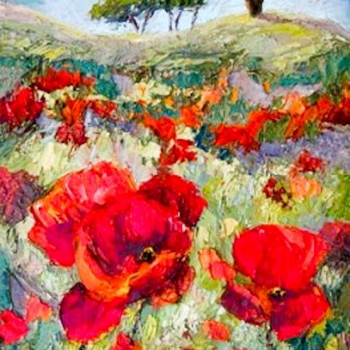 Arcadian Landscape by Iris Scott
