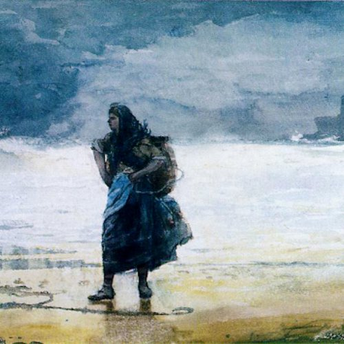 The Gale by Winslow Homer