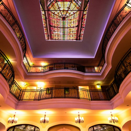 Hotel Symmetry by Mike Shaefer