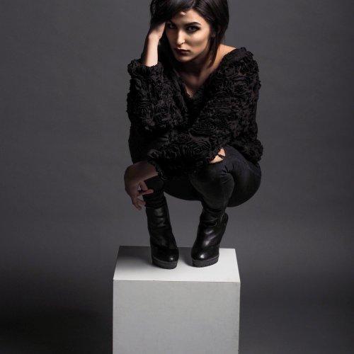 Model in Black by Al McLeod
