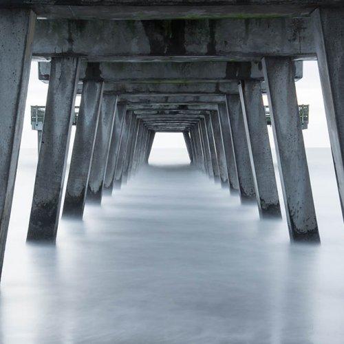 Tybee Island Pier by Brad Bartee