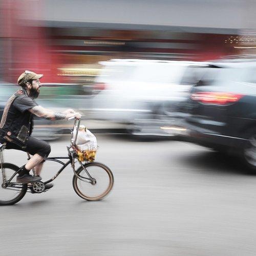Biking in the Marigny by Brandon Ward