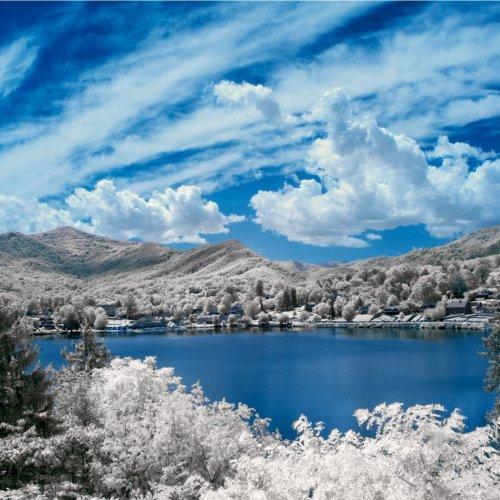 Lake Junaluska - Infrared by Don Stephens