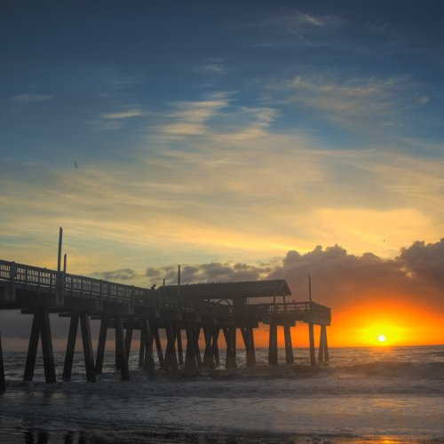 Tybee Island Pier by Don Stephens