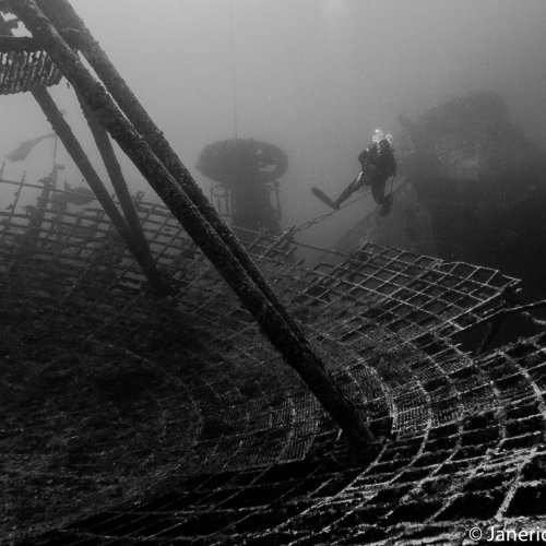 110 Feet Down on the Vandenburg by Janerio Morgan