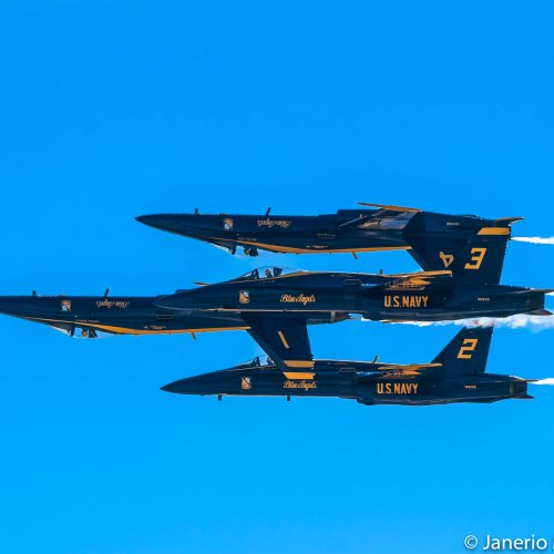 The Blue Angles by Janerio Morgan