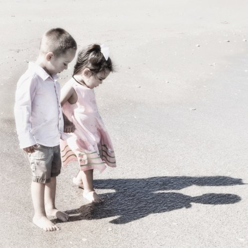 Discovering Their Shadows in the Sand by Jenn Cardinell