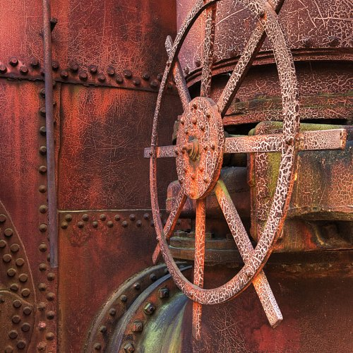 Sloss Wheel by Jim Harrison
