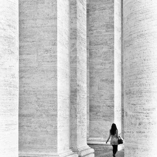 Among The Columns by Marc McElhaney