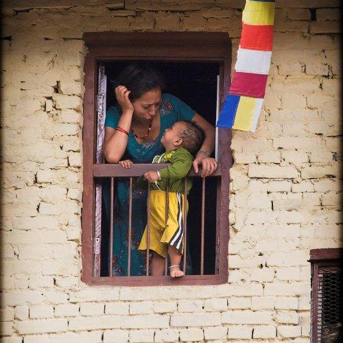 Kathmandu Window #2 by Marc McElhaney