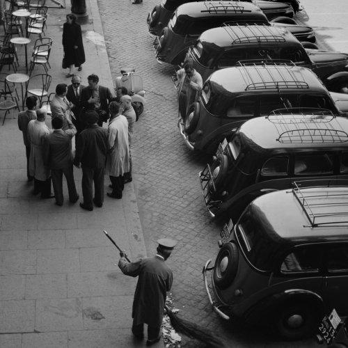Taxi Driver's Caucus - Rome, Italy by Mario DiGirolamo