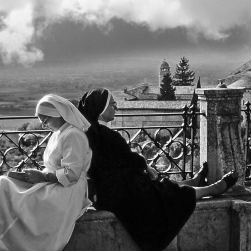 Piety at Rest - Assisi, Italy by Mario DiGirolamo