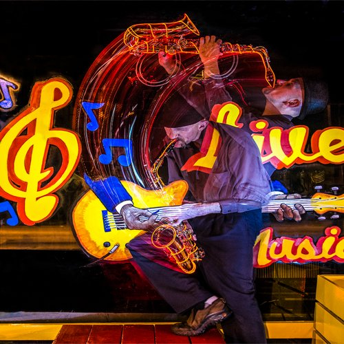 Jazz Swing (composite) by Mike Shaefer