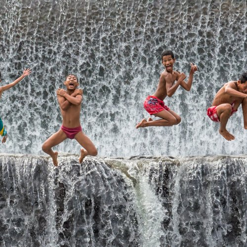Joy Jump by Mike Shaefer