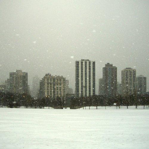 Blizzard, Lincoln Park by Ru Britton
