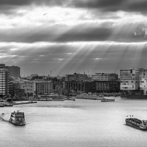 Amsterdam Harbour by Stan Greenberg