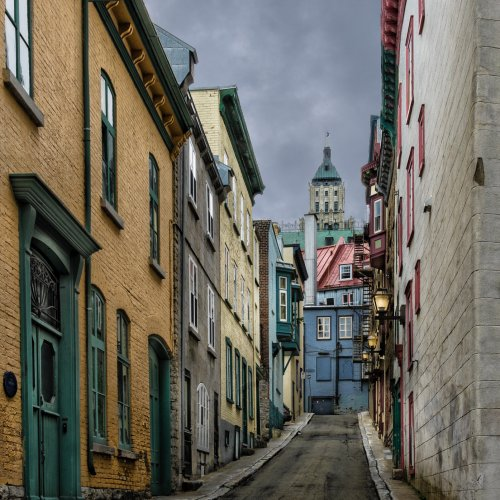 Old Quebec by Stan Greenberg