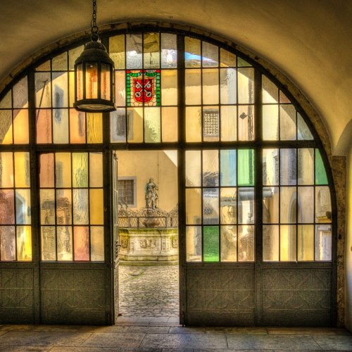 Through the Colored Glass by Stan Greenberg