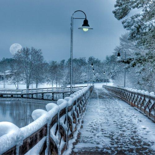 Winter in Edgefield by Stan Greenberg