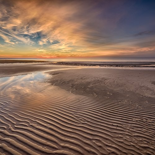 Cape Cod Sunset by Steve Director