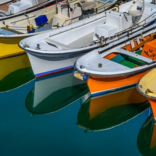 Harbor Reflections by Steve Director