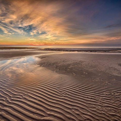Digital 1st - Cape Cod Sunset by Steve Director