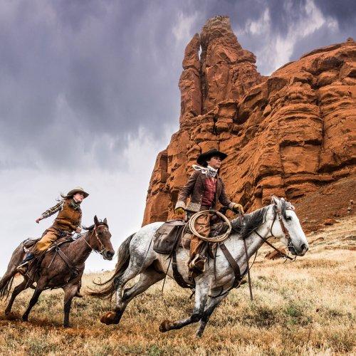 Digital HM - Horseback Rumble by Mike Shaefer