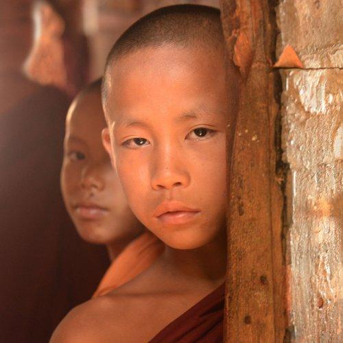 Digital HM - Novice Monks by Enrique