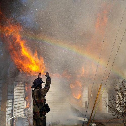 Marietta Fire by Vivian Lynch